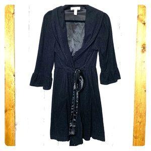 Oscar De La Renta pink label black robe